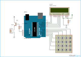digital code lock project using arduino