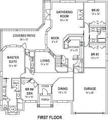 ranch house plans open floor plan open house floor plan novic me