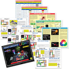 snap circuits lights electronics discovery kit elenco snap circuits lights electronics kits amazon canada