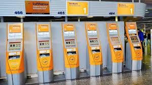 frankfurt airport check in machines