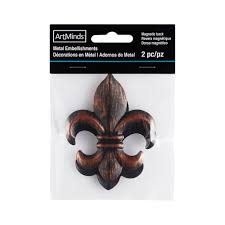 shop for the galvanized metal fleur de lis embellishments by shop for the galvanized metal fleur de lis embellishments by artminds at michaels