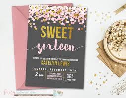 best 25 sweet 16 invitations ideas on pinterest sweet sixteen