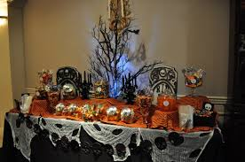 halloween tablecloth how to create a halloween candy buffet my love of style u2013 my