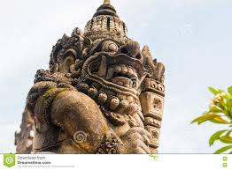 God Statue Balinese Giant God Statue Stock Photo Image 72806228