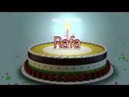 imagenes de feliz cumpleaños rafael feliz cumpleaños rafa youtube