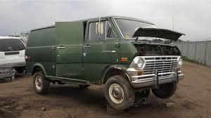 1970 ford econoline custom 200 van junkyard find