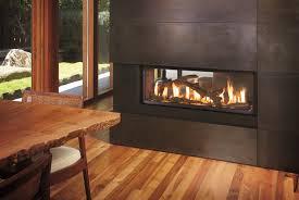 ideas wondrous see through fireplace design in 23 various ideas