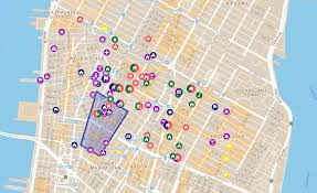 Downtown Manhattan Map Civil Rights Social Justice Map Charts Civil Rights History In