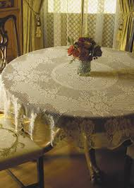 halloween lace curtains victorian rose 72 u2033 round tablecloth u2013 heritage lace vr 7200e vr