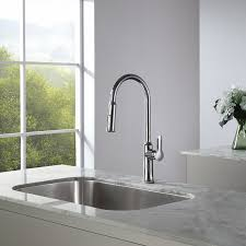 Pull Down Faucet Kitchen Kraus Kpf 1630ch Nola Single Lever Pull Down Kitchen Faucet Chrome