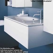 Stone Basin Vanity Unit Laufen Palomba Vanity Unit With Drawer In Stone Grey 79 5x28x47