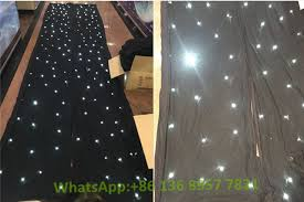Curtain Dancing Star Curtain Dancing Stage Decorations Led Lighted Stage Backdrop