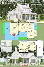 farm house designs and floor plans plan 130001lls exclusive 3 bedroom farmhouse with expansive