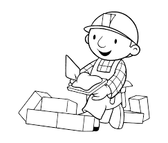 bob builder coloring picture clip art library