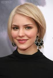 easy to keep hair styles katharine mcphee s easy to keep short hairstyle with angled sides