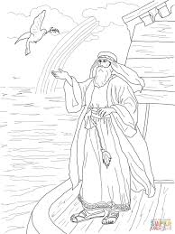 noah u0027s dove returns with the olive leaf coloring page free