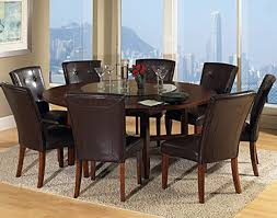 Modren Round Dining Room Sets For  Table Seats Librarianslibrary - Formal round dining room tables