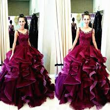 maroon quinceanera dresses 2016 new design charming gown prom dresses quinceanera