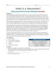 physics 100 lab â u20ac u201c measurements conversions equations
