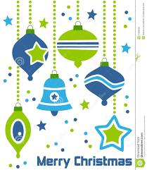 retro christmas ornaments 2 royalty free stock images image