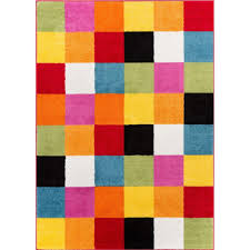 Kid Area Rugs Well Woven Starbright Bright Square Multi 5 Ft X 7 Ft Area
