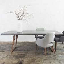 Dining Table Design by How To Match Dining Chairs With A Designer Table Concrete Dining