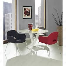 Multi Coloured Chairs by Saarinen Style Executive Dining Chair Multiple Colors Designer