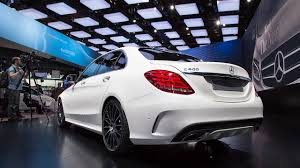 mercedes c 400 amg gossip from the mercedes stand at detroit auto road and