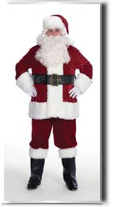 costumes santa suits