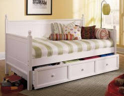 White Daybed With Storage White Daybed With Drawers Daybeds Add Storage Trundle Wooden Metal