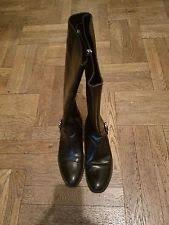 womens boots made in portugal s look shiny knee high boots ebay