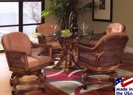 Wicker Dining Room Chairs Indoor 20 Best Caster Chairs Images On Pinterest Rattan Chairs Dining