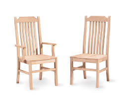 unfinished dining room chairs provisionsdining com