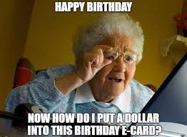 Meme E - 20 incredibly funny birthday memes sayingimages com