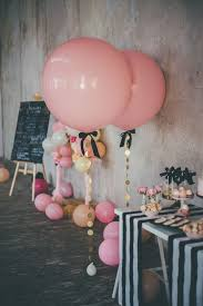 bridal shower party supplies pink balloon ballon jumbo balloon baby shower