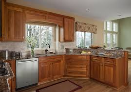Dura Supreme Crestwood Cabinets Ksi Kitchens Kitchen Transitional With Chandelier Dura Supreme