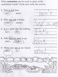 contractions vocabulary and halloween crafts beaux u0027s homeschool