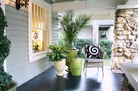 green front porch light reading my tea leaves trend ta transitional porch remodeling