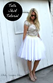 how to make a tulle skirt diy tulle skirt tutorial the lazy girl way