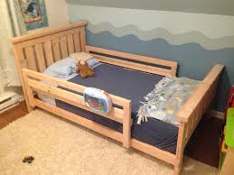 homemade toddler bed diy toddler bed rail travel diy toddler bed rail for race car