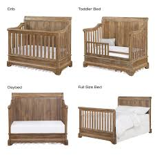What Is A Convertible Crib Bertini Pembrooke 4 In 1 Convertible Crib Rustic Stuff