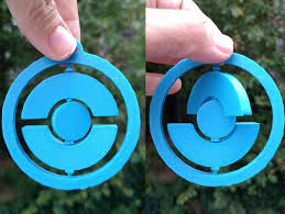 spinning pokestop ornament by vickytgaw thingiverse