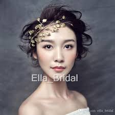 cheap hair accessories new design handmade gold leaf hair accessory photograph bridal