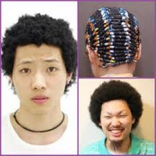 can asian hair be permed can caucasian hair be transformed into kinky curly hair a real