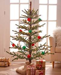 country christmas tree 4 ft lighted country christmas tree the lakeside collection