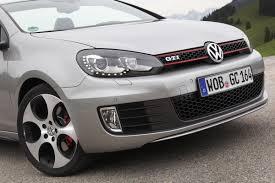 volkswagen golf gti 2013 2013 tungsten silver vw golf gti cabriolet front eurocar news