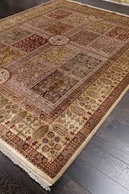 Ivory Wool Rug 8 X 10 Antiquity Persian Begie Ivory Oriental Wool Rug 8 U0027 X 10