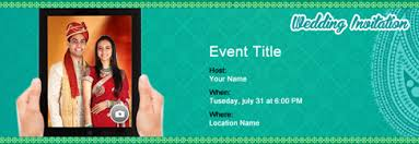wedding invitations online india free wedding invitation with india s 1 online tool