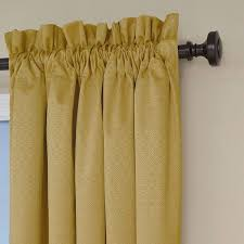 Eclipse Curtains Thermalayer by Eclipse Nottingham Thermal Energy Efficient Grommet Curtain Panel