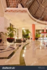 fragment lobby five stars luxury caribbean stock photo 122790031